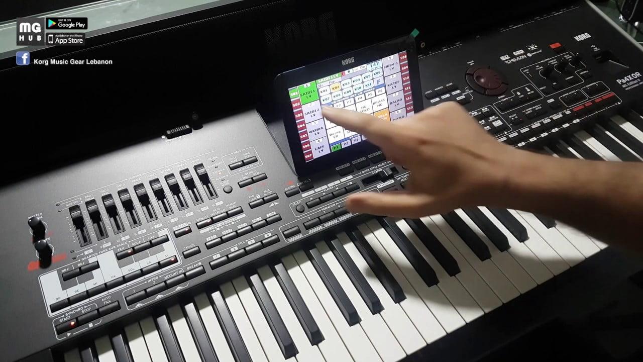 Keyboard Pa4x MG2 Eition
